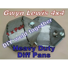 GL Land Rover Weld on Diff Pan DIY Heavy Duty